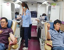 4. 25 사랑의 헌혈 릴레이 운동
