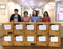 6. 26 실비장애인생활시설 도림원 선풍기 기증