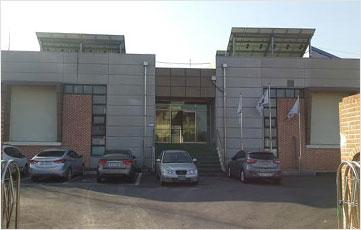 시설및 관리동 전경